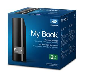 Western Digital My Book External Hard Drive 2TB